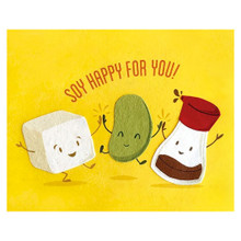 Soy Happy For You Card