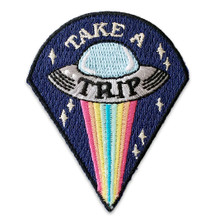 Take a Trip UFO Patch