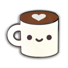 Coffee Luv Enamel Pin