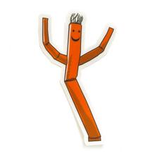 Wacky Waving Man Sticker