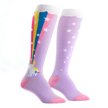 Rainbow Blast Knee-High Socks