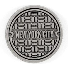 NYC Sewer Enamel Pin