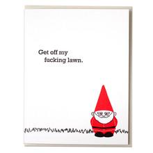 Lawn Gnome Card