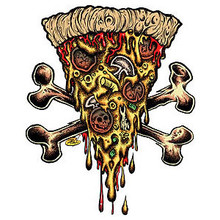 Pizza Doom Sticker