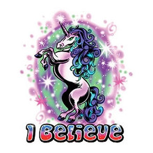 I Believe Unicorn Sticker