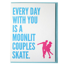 Couples Skate Card
