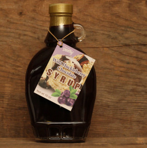 Wild Huckleberry Chocolate Syrup