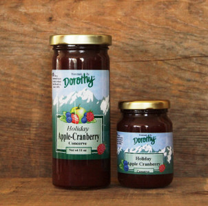 Spiced Cranberry Apple Fruit Butter