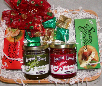 Red & Green Party Starter Basket
