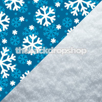 Snowflake Backdrop / Snow Floor Backdrop - Items 1030 & 2144
