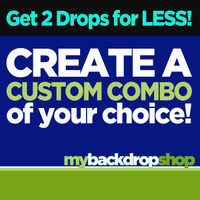 Create Your Own Custom Combo -Two Photography Backdrops - Choose Any 2 Designs in Our Shop