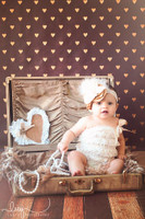 Brown and Gold Photo Backdrop - Item 2221