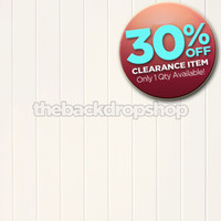CLEARANCE - VINYL 5ft x 6ft White Wood Floor Drop for Photos - Ivory Wood Plank Backdrop - Exclusive Design - Item 2022