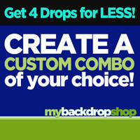 Create Your Own Custom Combo - Four Photography Backdrops - Choose Any 4 Designs in Our Shop