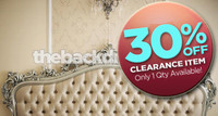 CLEARANCE - CANVAS - 9ft x 4ft Photography Backdrop - Fancy Tufted Bed Headboard - Item 264