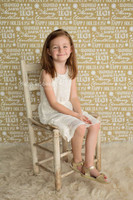 Gold Christmas Holiday Photography Backdrop - Christmas Photo Prop - Item 3025