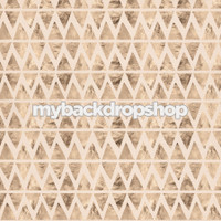 Neutral Color Geometric Shaped Photo Prop - Triangle Photo Prop - Item 3126