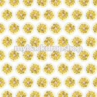 Vintage Citrus Lemon Wall Paper Photography Backdrop - Yellow Lemonade Backdrop for Photos - Item 3106