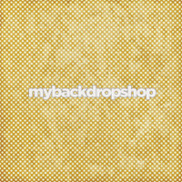 Distressed Gold Dot Photo Backdrop - Gold and Tan Polka Dot Photography Backdrop - Item 3132