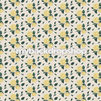 Yellow Rose Floral Wallpaper Backdrop - Flower Backdrop for Photos - Item 3165
