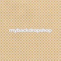 Tan Circle Patterned Photography Backdrop - Neutral Wedding Photography Prop - Item 3211