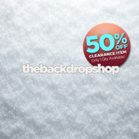 CLEARANCE - POLY - 5ft x 5ft Christmas Snow Backdrop - Snow Floor Drop - Holiday Photo Background - Item 2144