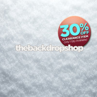 CLEARANCE - VINYL - 7ft x 6ft Christmas Snow Backdrop - Snow Floor Drop - Holiday Photo Background - Item 2144