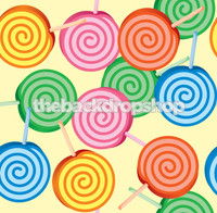 Kids Lollipop Photography Backdrop - Item 120