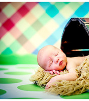 Baby Photography Backdrop - Gender Neutral Childrens Photography Prop - Item 121