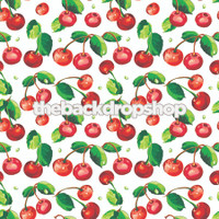 Cherry Print Photography Backdrop - Item 124