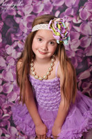Purple Flower Photo Prop - Item 174