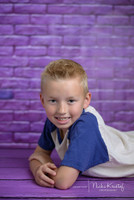 Purple Brick Photography Backdrop - Item 295