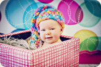 Fun Colorful  Circle Photography Backdrop For kids - Item 303