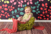 Fun Multi Color Leaf Backdrop - Item 372