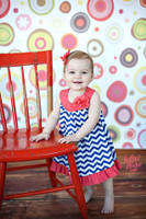 Fun Geometric Dot Photography Backdrop - Item 379
