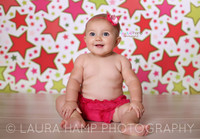 Stars and Confetti Backdrop for Pictures  - Item 425