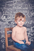 School Chalkboard Background for Photos - Cute Kids Portrait Prop -  Backdrop for Studio Photography - Item 444
