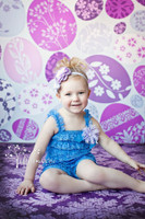 Childrens Easter Egg Backdrop for Studio Photography - Item 499