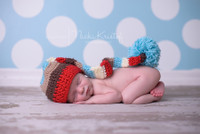 Newborn Boy Photography Prop - Backdrop or Floordrop for Baby Photography - Item 599