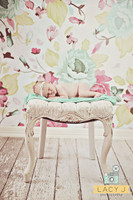 Floral Background for Photo Sessions - Cheap  Photography Backdrop - Item 674