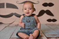 Mustache Photography Back Drop - Item 779