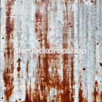 Rusted Metal Wall Backdrop for Photos or Floor Backdrop for Portrait Photography - Item 844