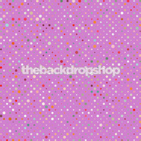 Purple Colored Polka Dot Design Background - Item 898