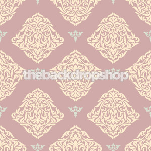 Purple Damask Wallpaper Photography Backdrop
