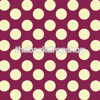 Purple and White Polka Dot Photo Backdrop for Girls - Item 980