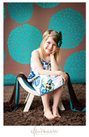 Turquoise Blue and Brown Photography Prop - Item 1055