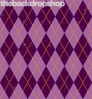 Purple Argyle Pattern Background for Photography - Item 1139