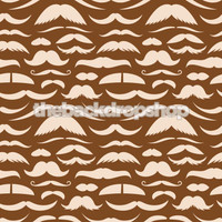 Mustache Party Photography Backdrop - Item 1140