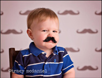 Mustache Party Photo Backdrop - Photo Booth or Kids Photo Shoot Prop - Item 1142