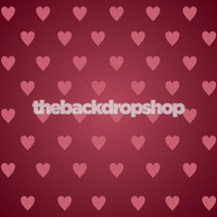 Pink Hearts Photo Backdrop - Heart Background for Photography - Item 1146